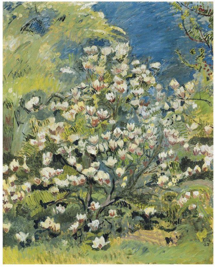 Vincent Van Gogh Artist Amiet Magnolia 1945 Cuno Amiet