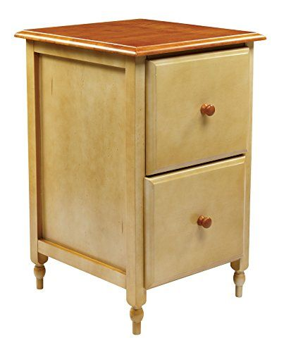 Awesome Cherry File Cabinet 2 Drawer