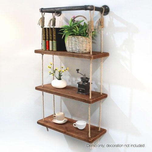 Fresh Pipe Shelves Pinterest