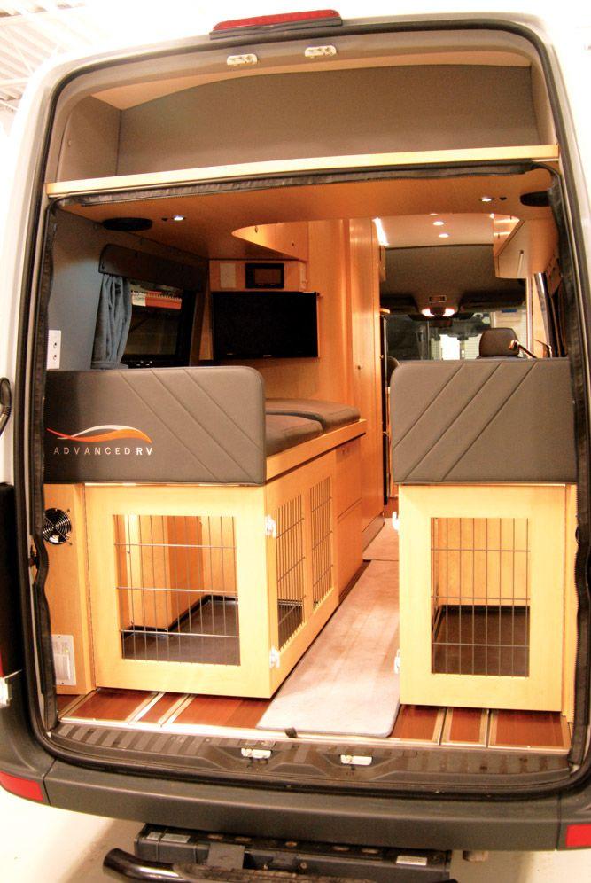 Advanced Rv Class B Campervan Interior Van Interior Sprinter