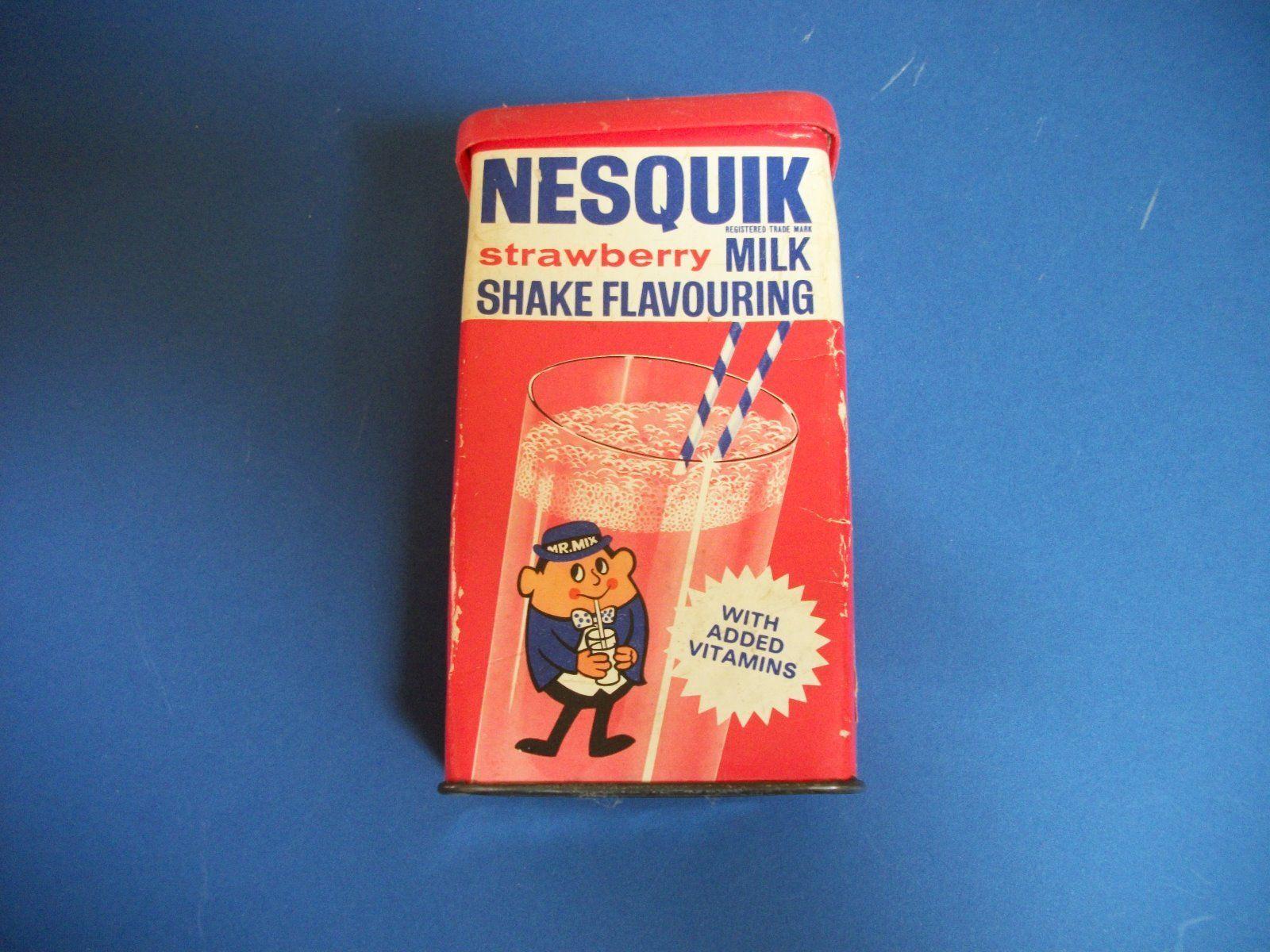 Nesquik UK 1970 - Nestlé tin