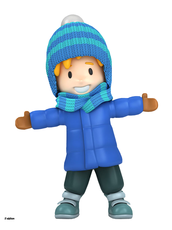 Boy Cooking Clipart