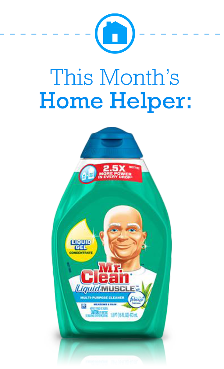 Mr Clean Liquid Muscle Gel Cleaner Penetrates And Lifts