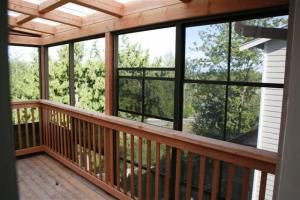 Weathermaster Windows On Second Story Deck Sunroom Windows Outdoor Living Backyard Patio