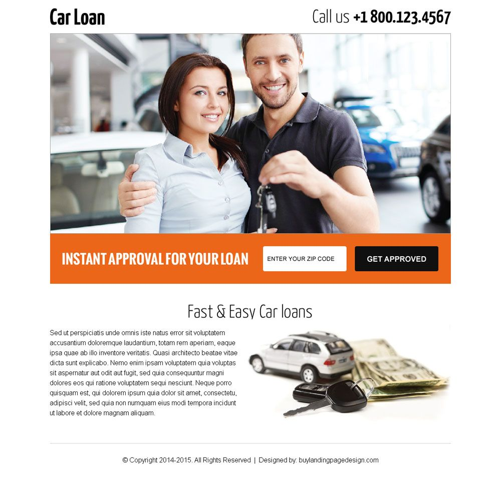 Get Car Loan By Zip Code Search Responsive Landing Page Car Loan - Us zip code website