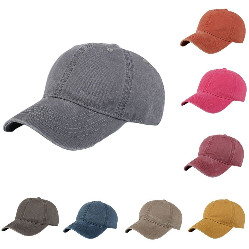 b32d5d21b Fashion baseball caps Women Men Adjustable Solid Cap Colorful Flower ...