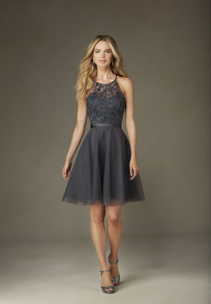 Gray Cocktail Dresses