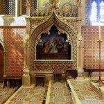 Minton Tiles - St Giles R. C. Church, Cheadle, Staffordshire