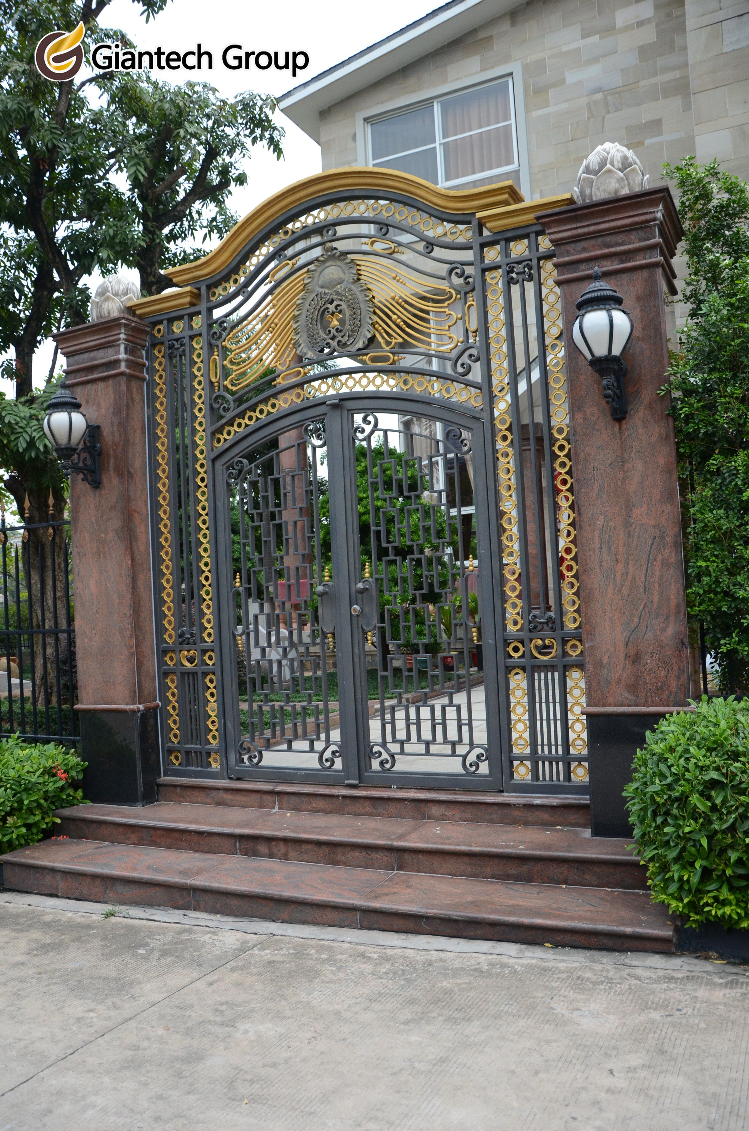 #wrought #iron #gate   can bring special potential for the atmosphere of your lovely house.
