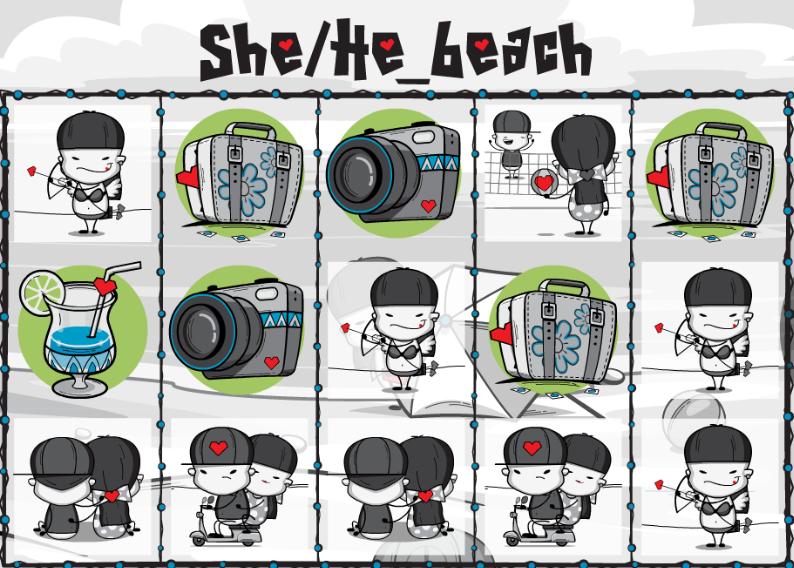 Spiele She/He_beach - Video Slots Online