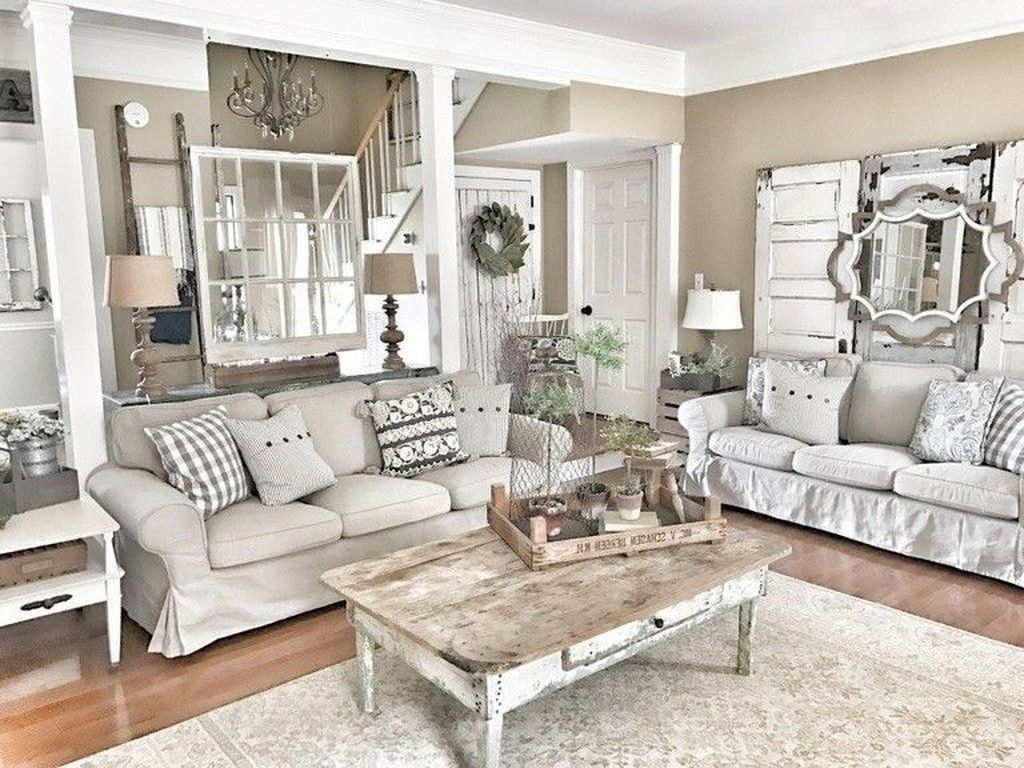 Comfy French Country Living Room Decor Ideas 48 French Cou