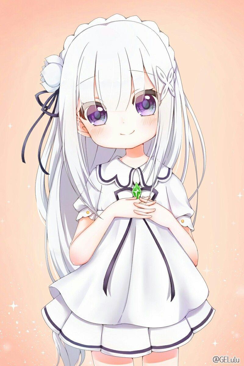 kawaii emilia (rezero) Anime, Dễ thương và Đang yêu
