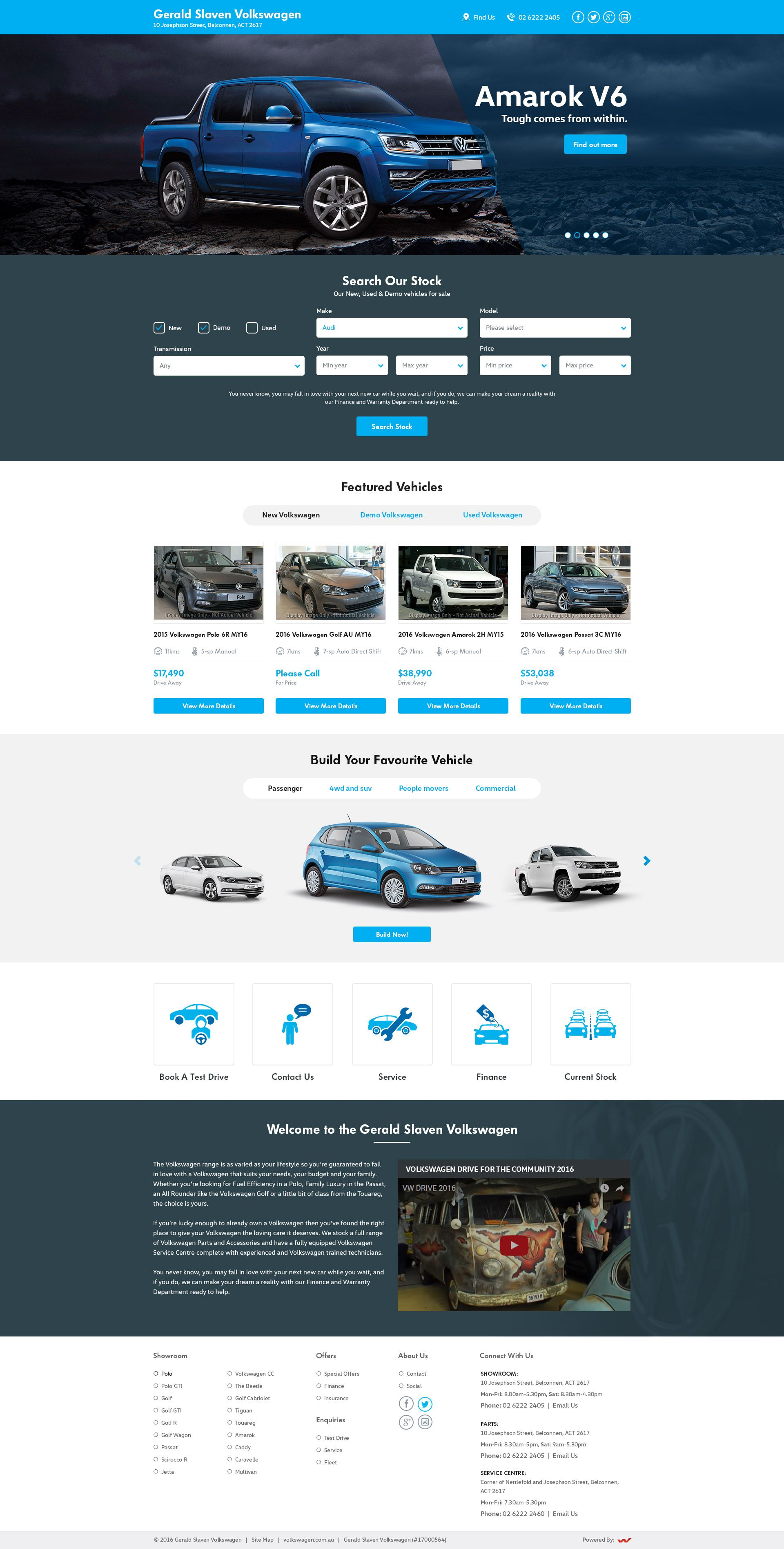 Australian based Used & Demo car selling Company #Volkswagen