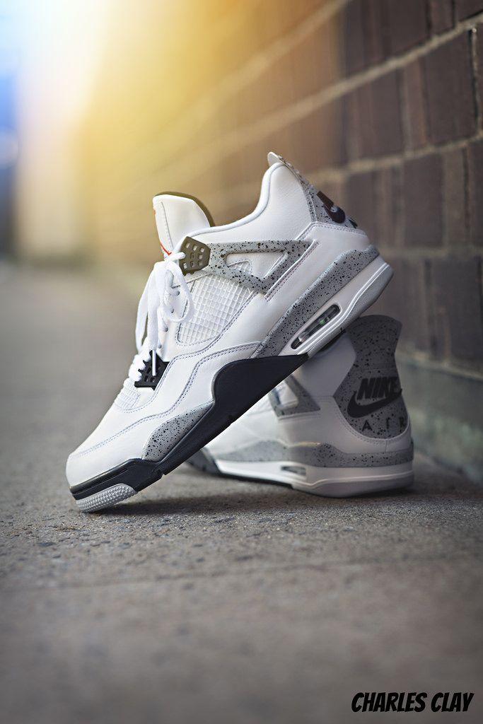 "a7af8ce409 Air Jordan 4 ""White Cement"""