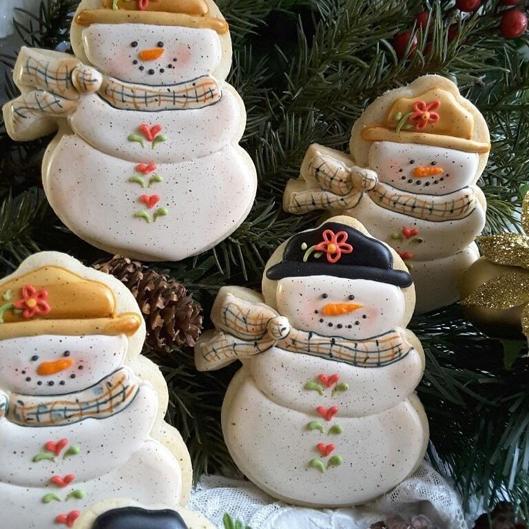 Chunky snowman, Teri Pringle Wood