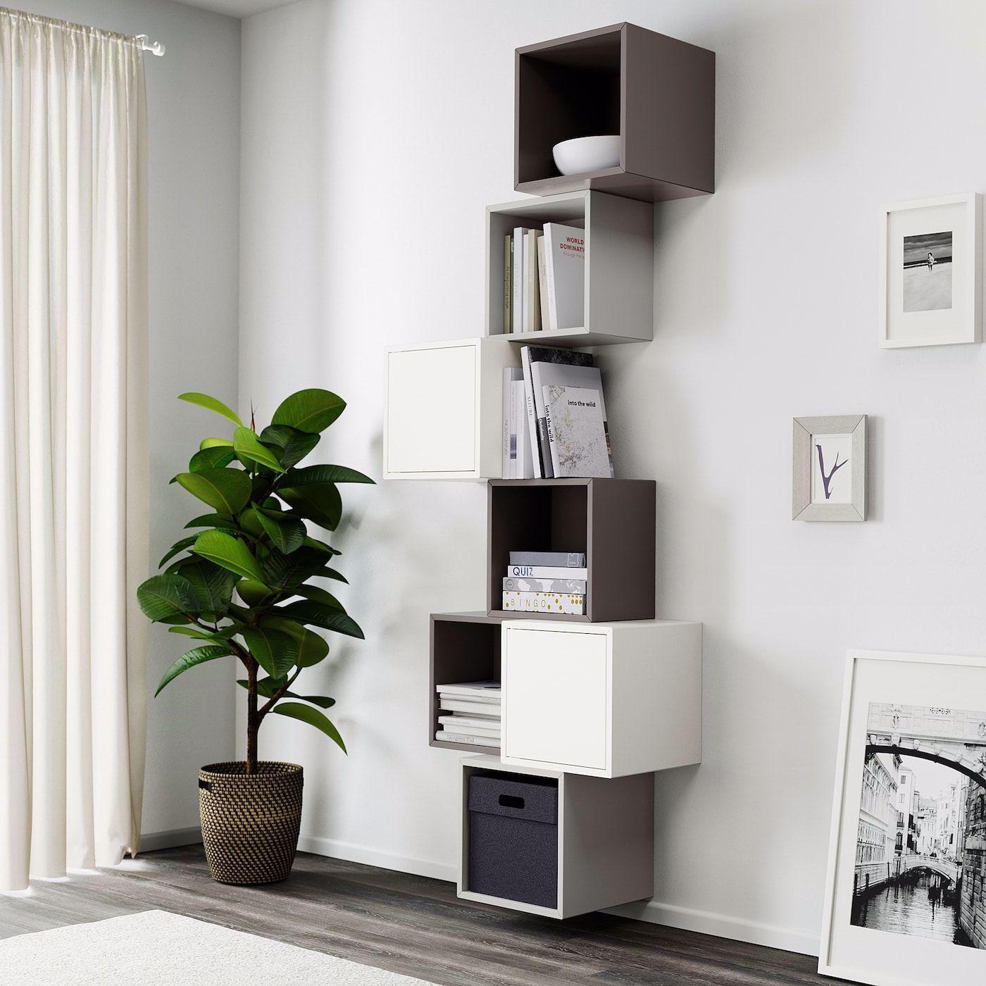 Libreria Da Parete Ikea librerie a parete fai da te ikea in 2020 | eket, wall