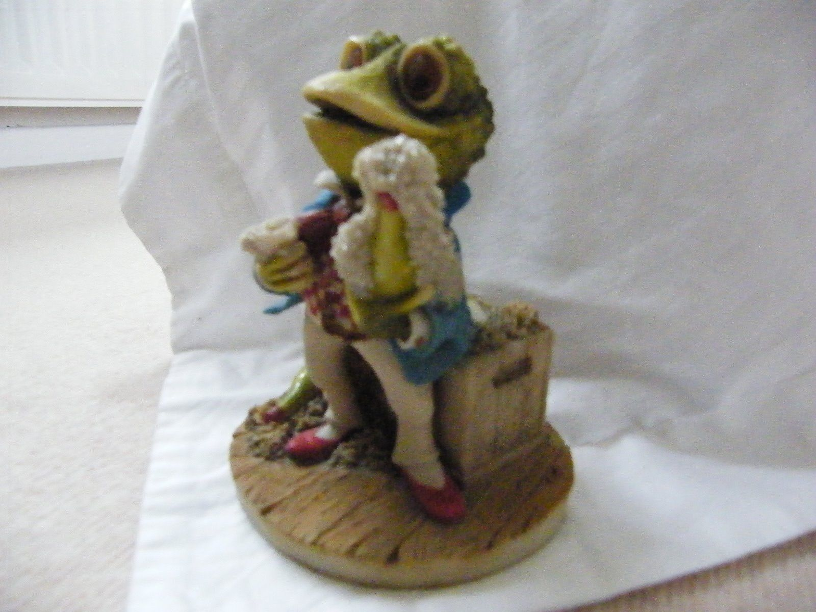 Wind in the willows ornaments - Toad Arden Sculptures For Cosgrove Hall Tv Series