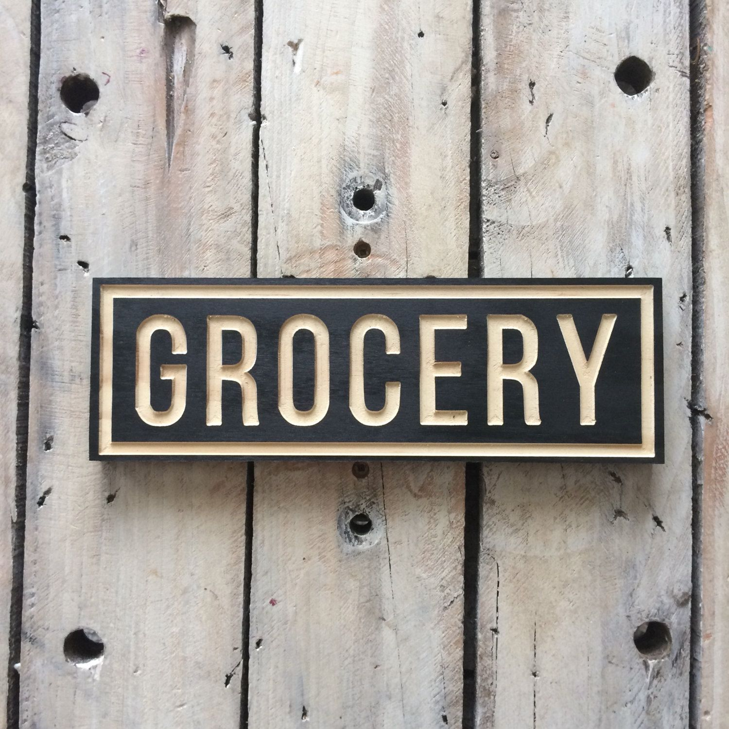 Pantry Wooden Signs