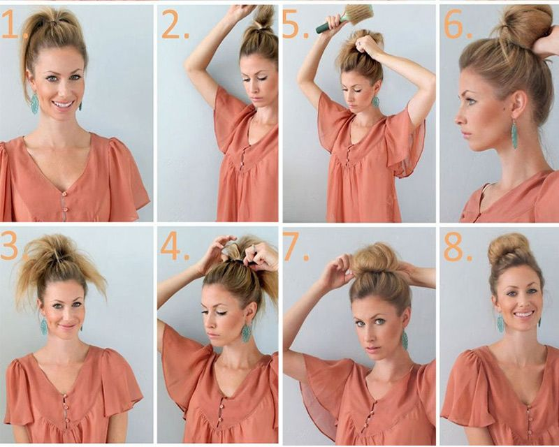Schnelle Hochsteckfrisuren 12 Ideen Zum Selber Machen Frisuren