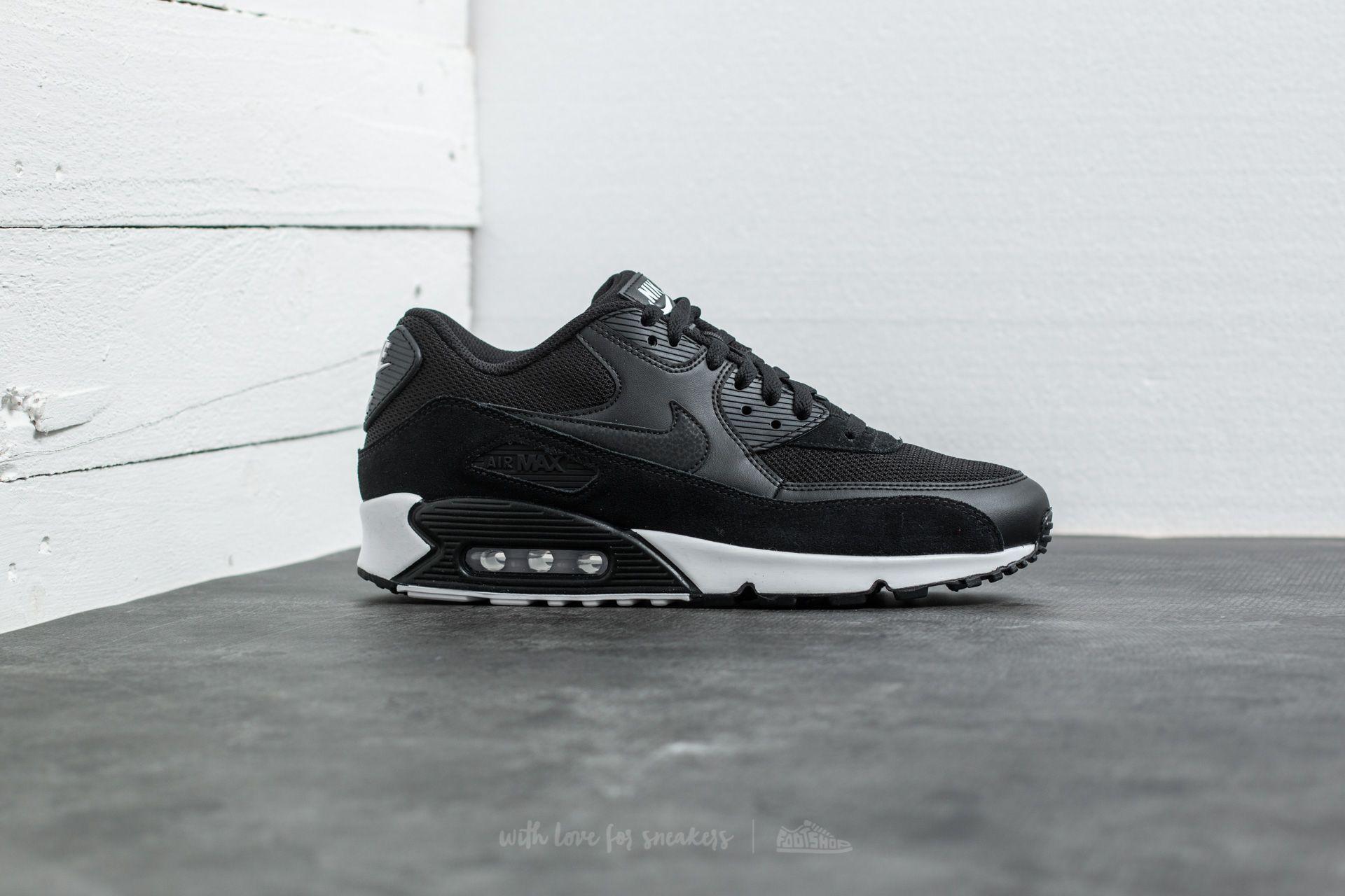 e974d9f8afa6 Nike Air Max 90 Essential Black  Black-White at a great price 139 ...