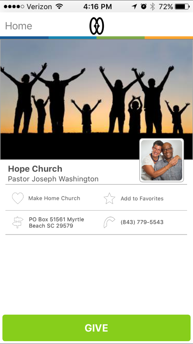Hope Church in Myrtle Beach, South Carolina