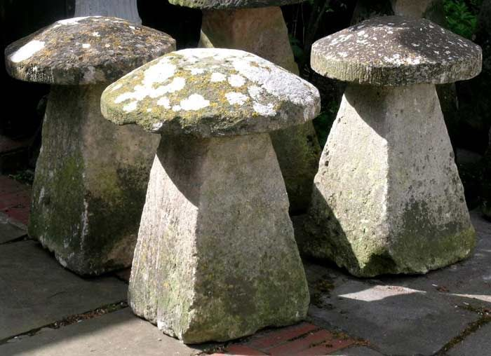 Pair of Cotswold Staddle Stones   staddle stone   Pinterest