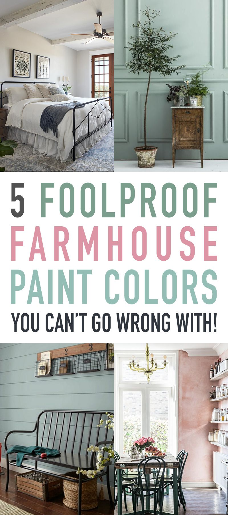 5 Foolproof Farmhouse Paint Colors You Can't Go Wrong With images