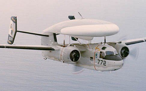 Grumman E-1 Tracer  The 1st purpose built airborne early warning