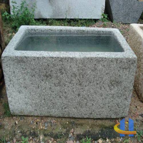 nature stone steintr ge aus basalt und granit trough trog pinterest brunnen. Black Bedroom Furniture Sets. Home Design Ideas
