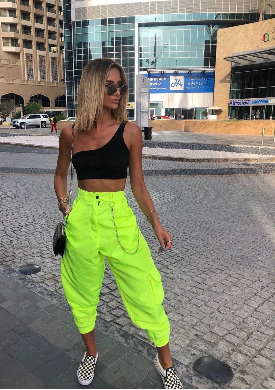 Neon Outfit in 2020 | Neon outfits, Neon party outfits, Neon dresses