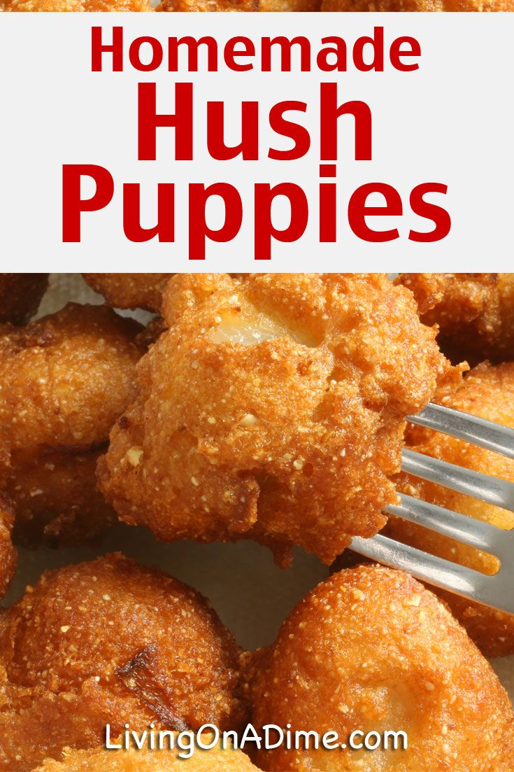 If You Love Long John Silvers Hush Puppies You Will Love This Homemade Hush Puppies Recipe Oh They Are So Good Th Hush Puppies Recipe Homemade Recipes Recipes