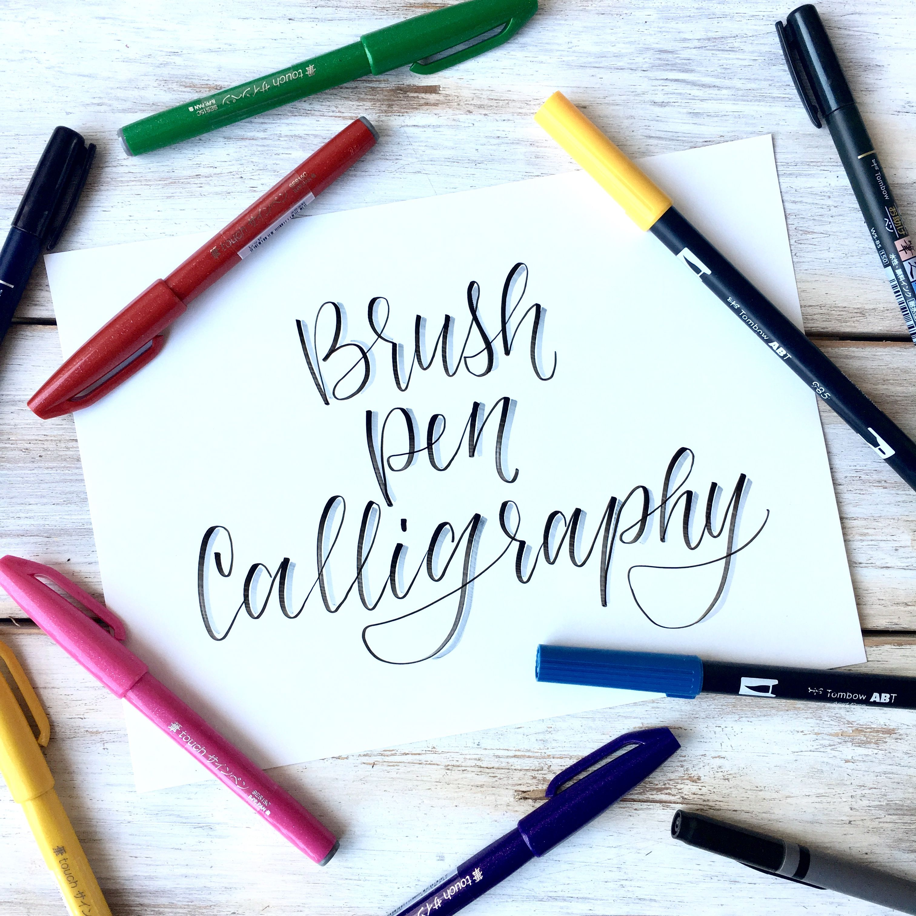 Brush Pen Calligraphy Basics Plus Free Printable Practice Sheets Scribbling Grace Calligraphy For Beginners Brush Pen Calligraphy Brush Pen Lettering [ 3024 x 3024 Pixel ]