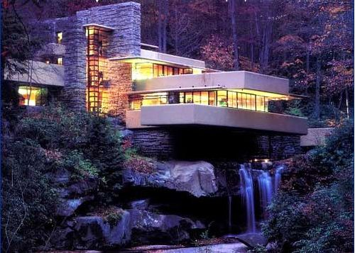 "fallingwater house""frank lloyd wright. devil - cosy and"