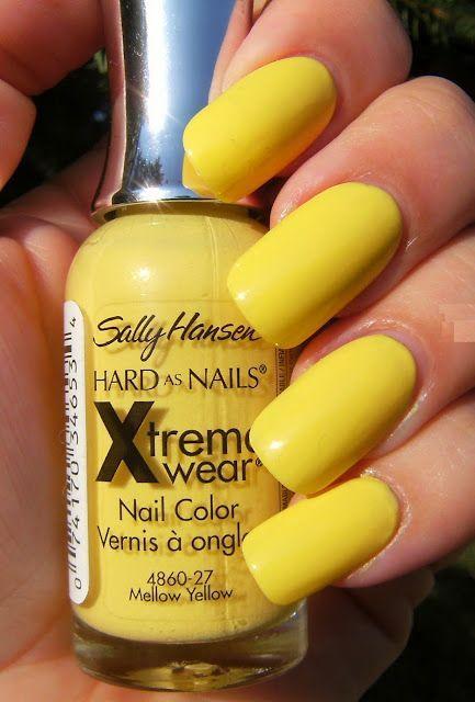 Image Result For Sally Hansen Mellow Yellow Nail Polish