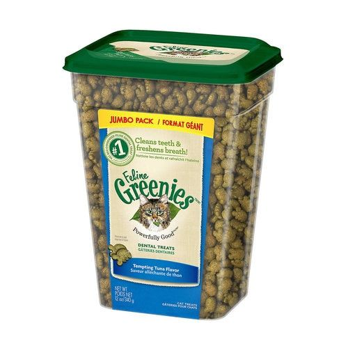 Greenies 12oz Dental Treat Tuna Roast chicken flavours