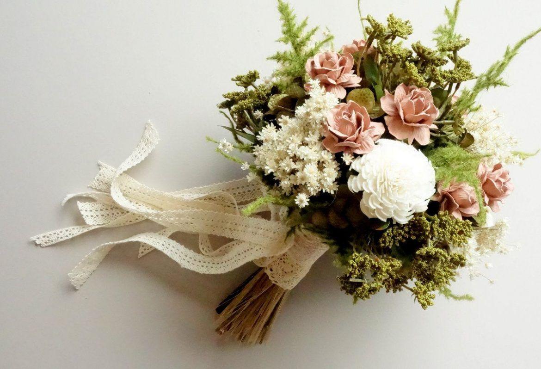 30 best fake flower bouquets | kates wedding | dried flower
