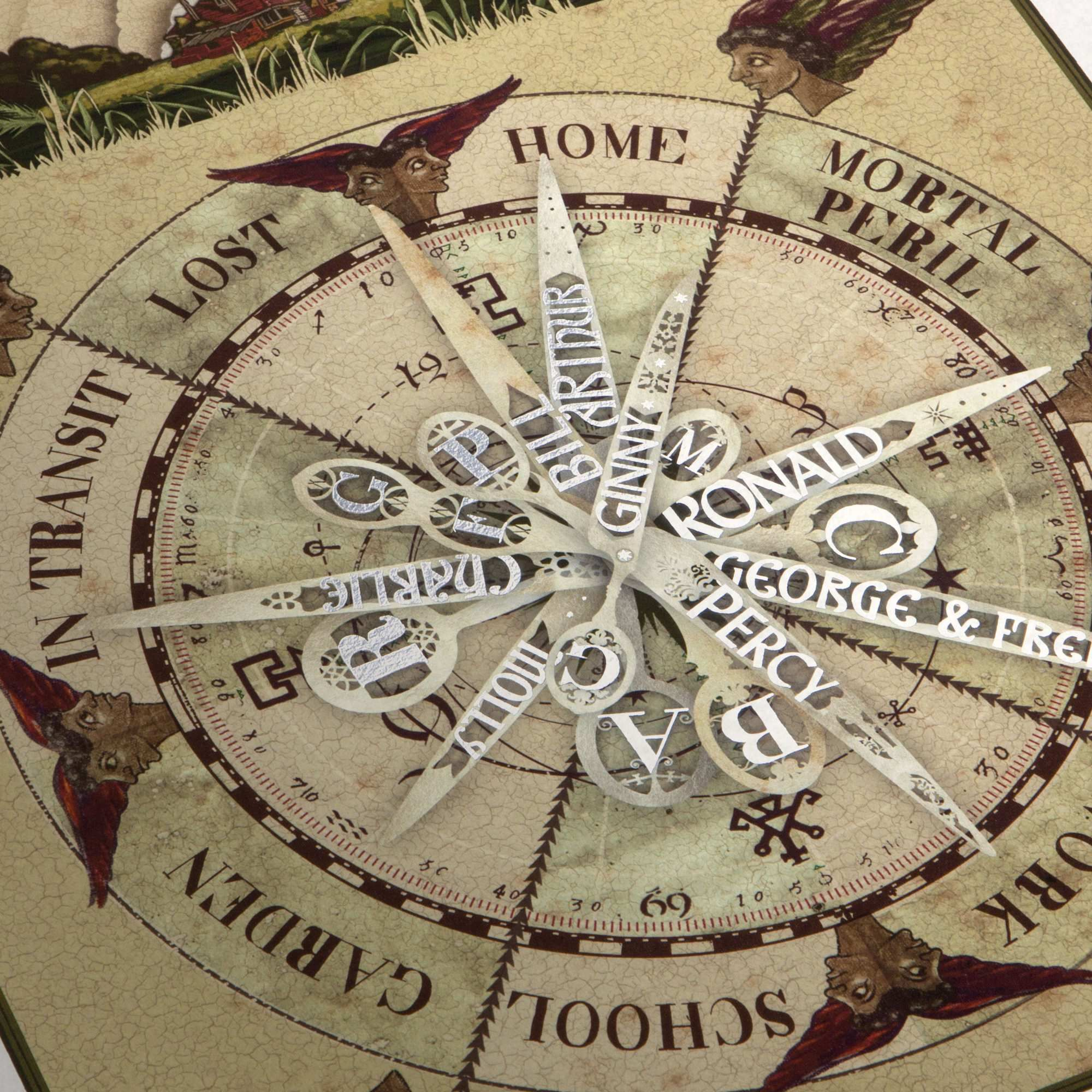 The Weasley Family Clock Print Harry Potter Graphic Art Print Minalima Wohnung