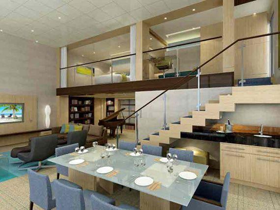 Ideas para decorar techo de doble altura home sweet home for Ideas para techos interiores