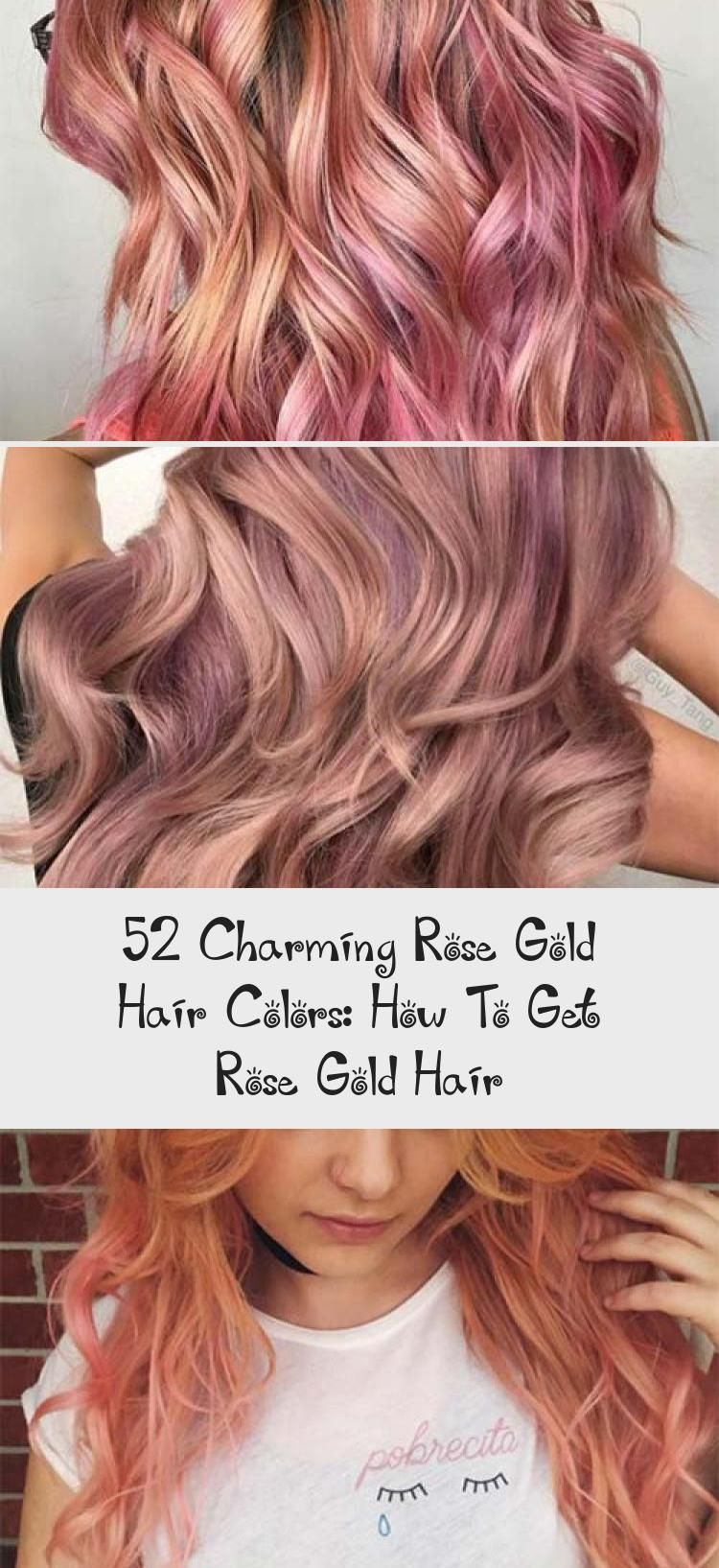 Excellent Pics Copper Rose Gold Hair Style Issues Looked At The Head Of Hair Coloration Trends Upon Your I Gold Hair Colors Rose Gold Hair Hair Color Rose Gold