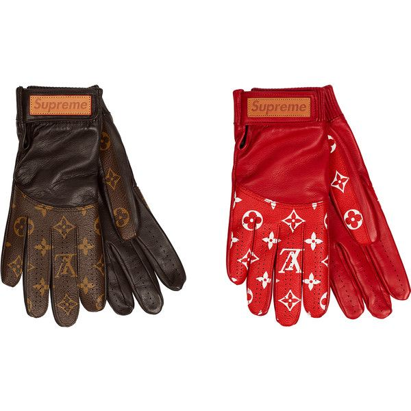 Supreme Louis Vuitton Baseball Gloves Liked On Polyvore Featuring Accessories And