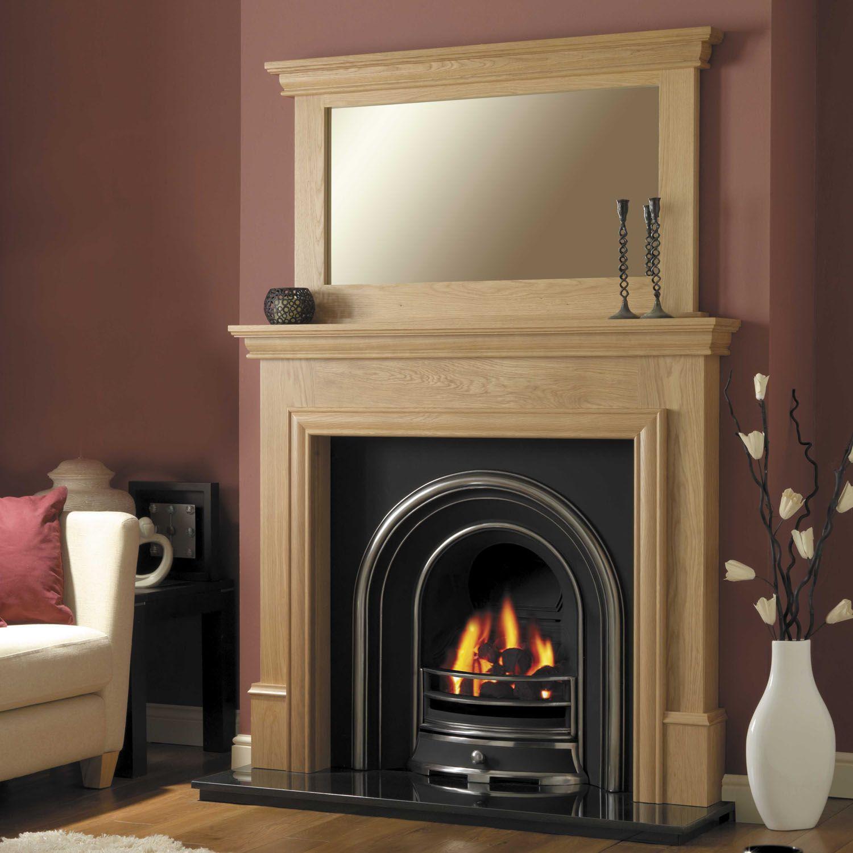 Www Tamworthfireplace Co Uk 576 00 Classic Fireplace Oak Fire