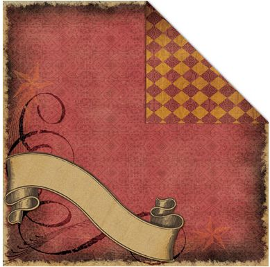 085 Banner Double Sided Scrapbook Paper Scrappingthemagic