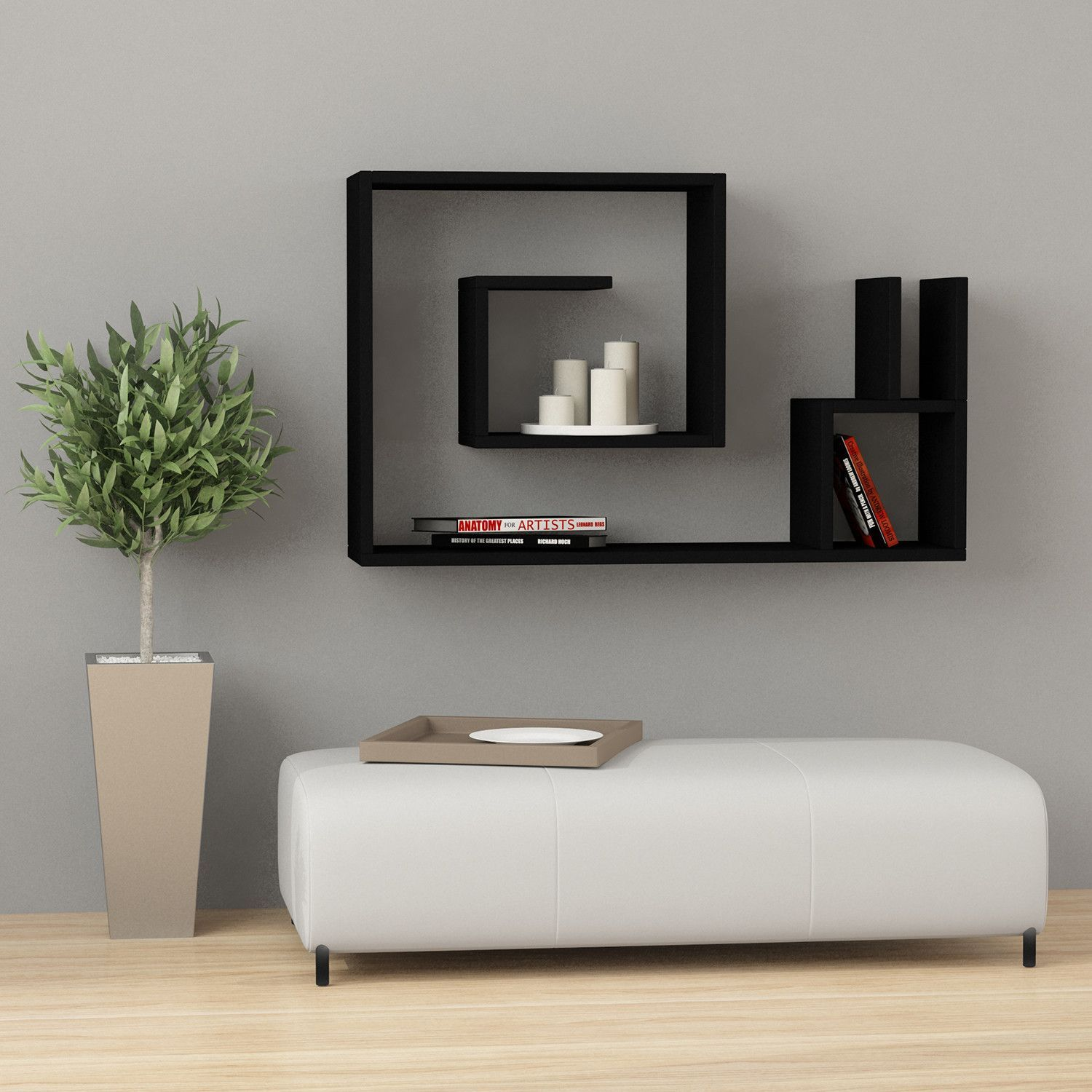Snail modern wall shelf shelving contemporary design and walls snail modern wall shelf amipublicfo Image collections