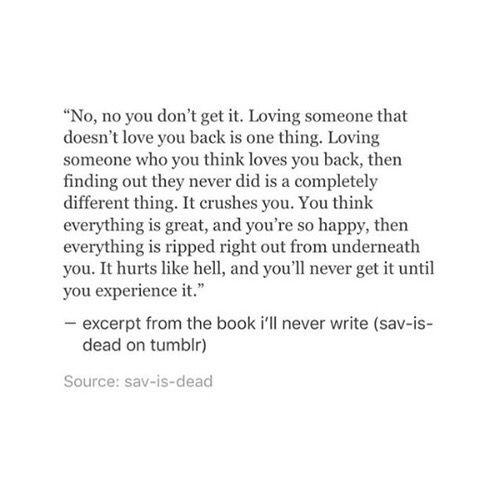 Loving Someone Who You Think Loves You Back Quotes Pinterest