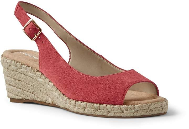 9f4e37b2ec21 These are lovely wide espadrille wedges for a day out!  wedges  wideshoes   ad  shoes