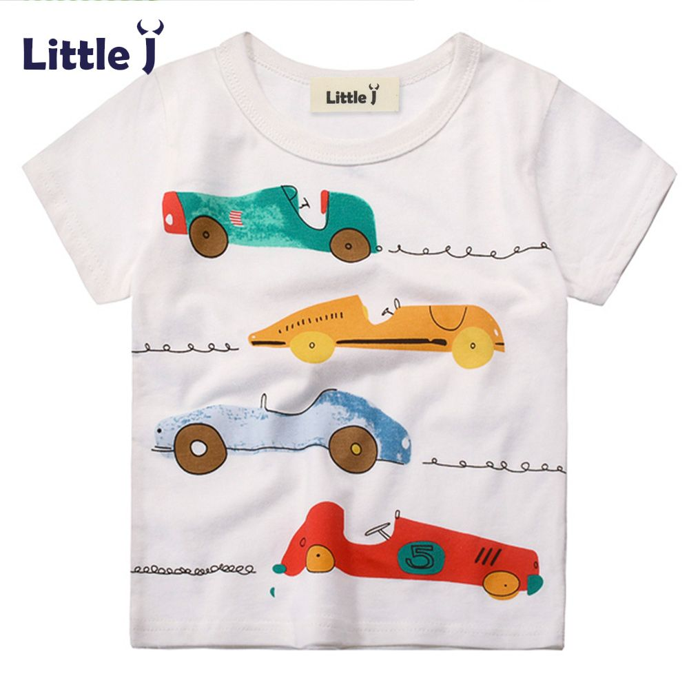 c9e117fd8 Nice Clearance Baby Boy Cotton Shirts Cartoon Colorful Car Children Summer  Short Sleeve T-Shirt Boy Girls Tops Tees Kids Clothes 2-7Y - $ - Buy it Now!