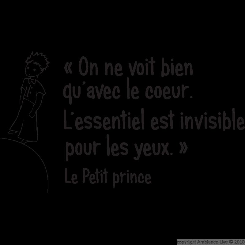Le Petit Prince Antoine De St Exupery Citation