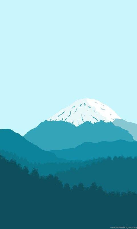 Minimal Mountain Wallpaper Minimalist Wallpaper Iphone ...