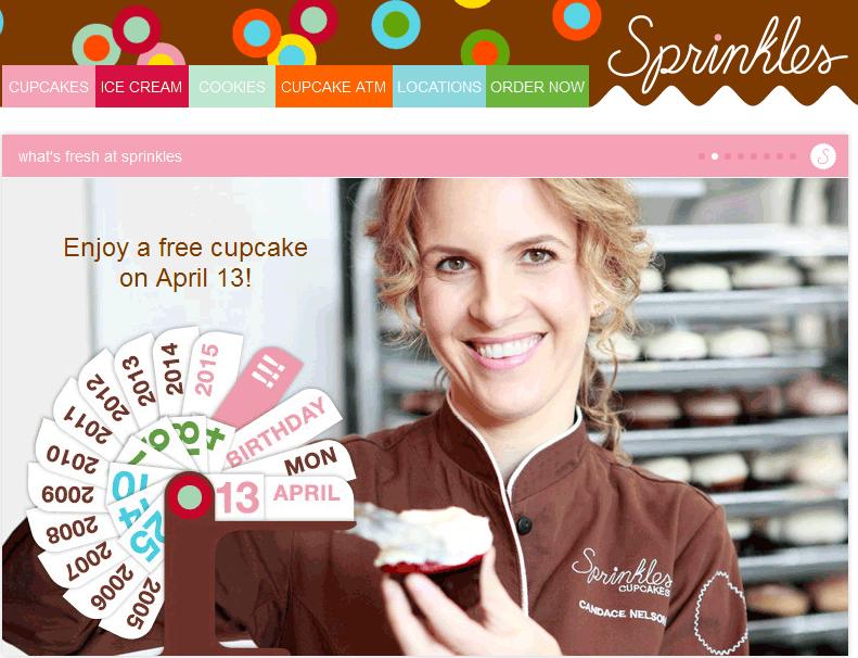 sprinkles cupcakes deals
