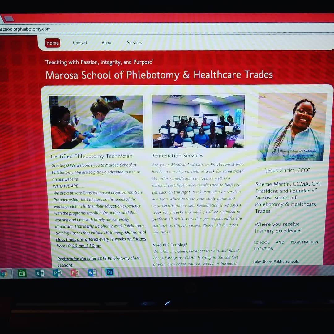Visit our website at marosaschoolofphlebotomy services we visit our website at marosaschoolofphlebotomy services we offer phlebotomy training clinical medical assistant program remediation courses cpr 1betcityfo Choice Image